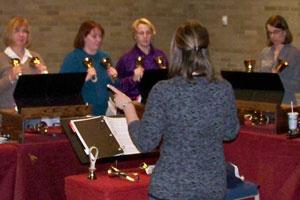 Bell Choir Rehearsal